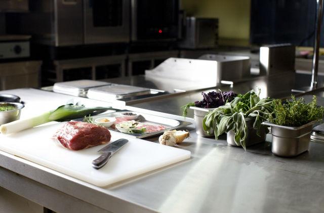 厨房と食材