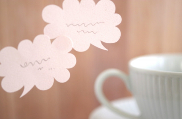 カフェの会話