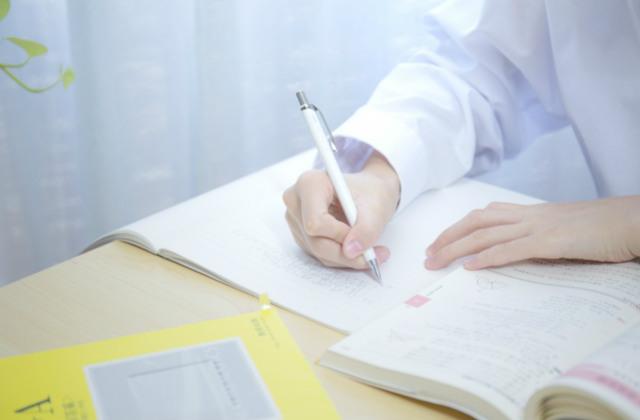 参考書とノートで勉強